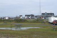 We stayed at the Oregon Inlet NPS campground - right across the road from the Oregon Inlet fishing center